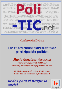 Cartel Maria Glez Veracruz
